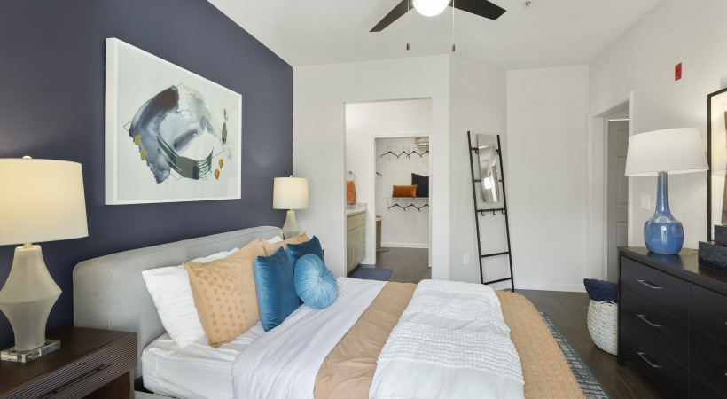 Renovated Bedroom with Ceiling Fans
