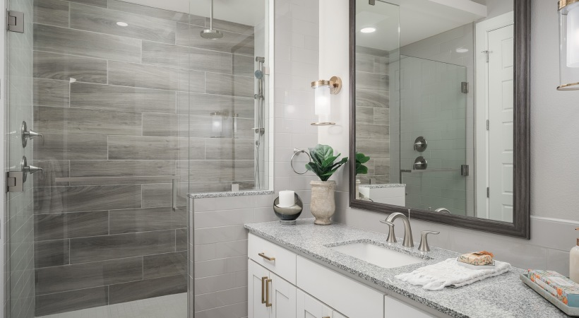 Biltmore apartments with walk-in showers