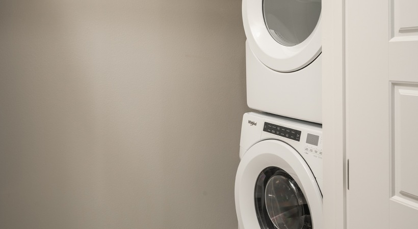 Cortland apartments with washer and dryer in unit