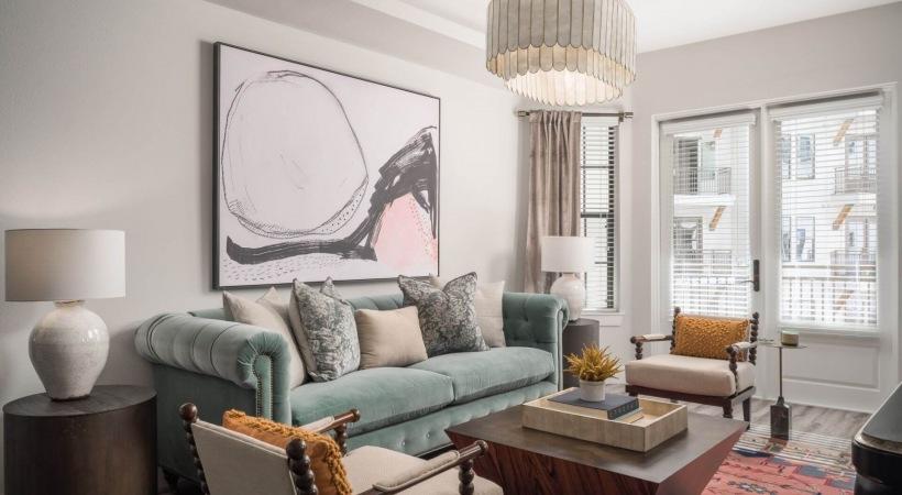 Spacious living areas at luxury apartments in Phoenix, AZ