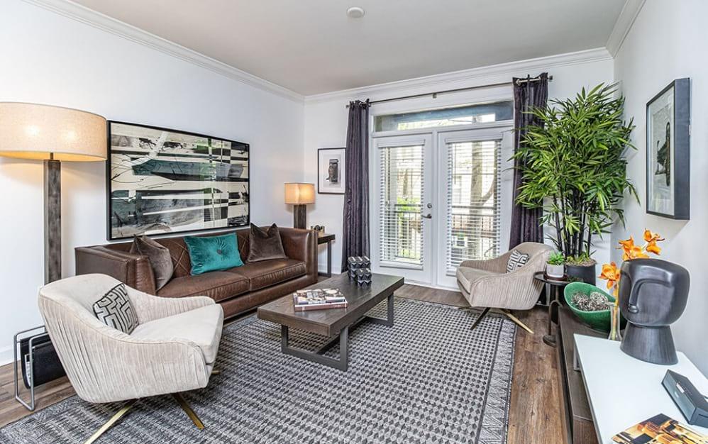 Living Room with Hard flooring   Oleander West