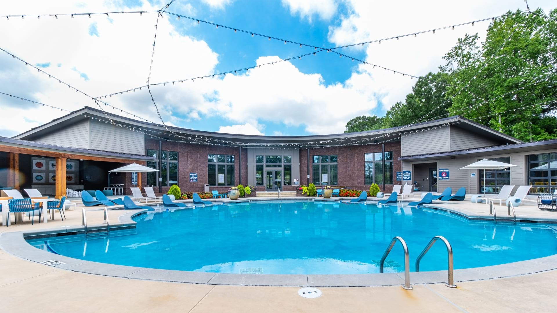 Resort style pool at Cortland Peachtree Corners