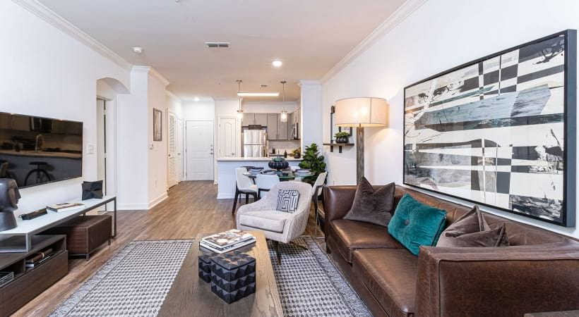 Spacious living rooms | Oleander
