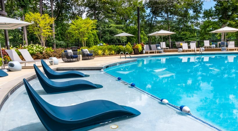 Resort-Style Pool at our Norcross apartments for rent