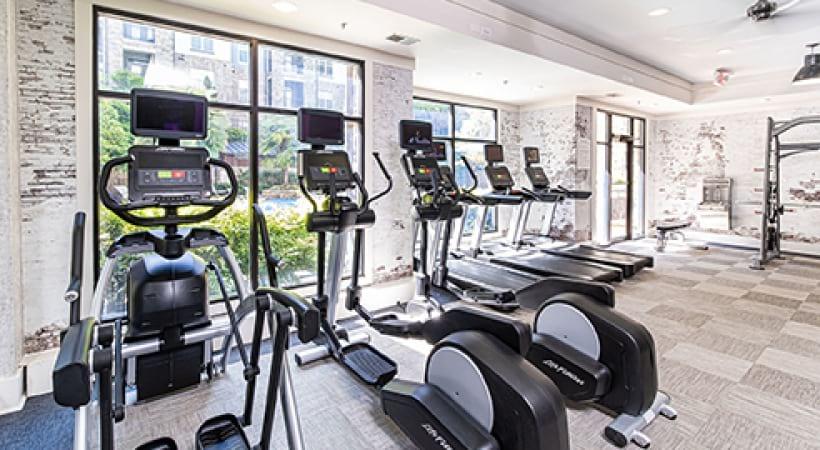 Ellipticals in Fitness Center | Oleander West