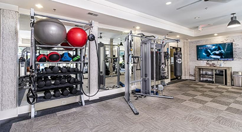 Weight Room | Oleander West