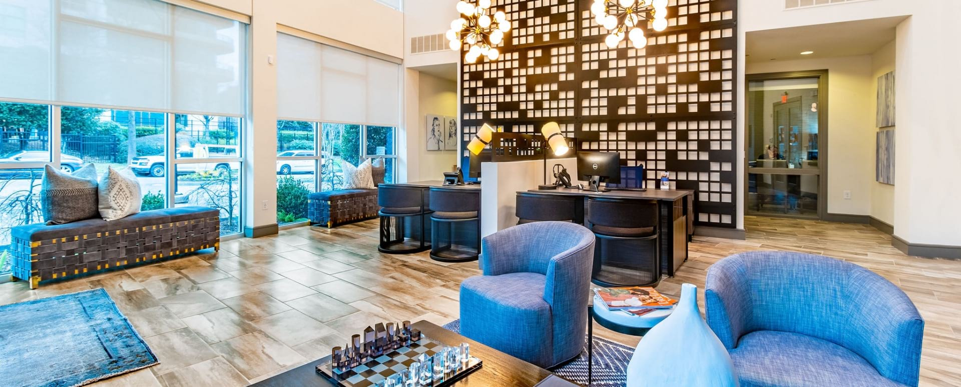 Resident Lounge at Phipps Plaza Apartments