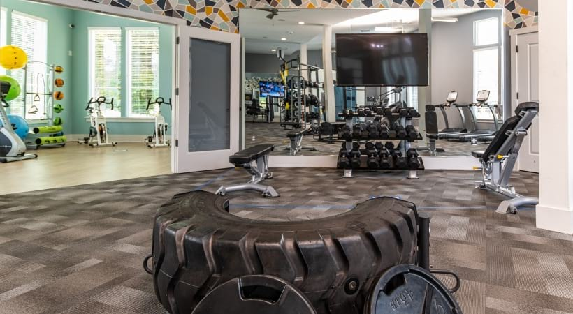 Peachtree Corners apartments with fitness center