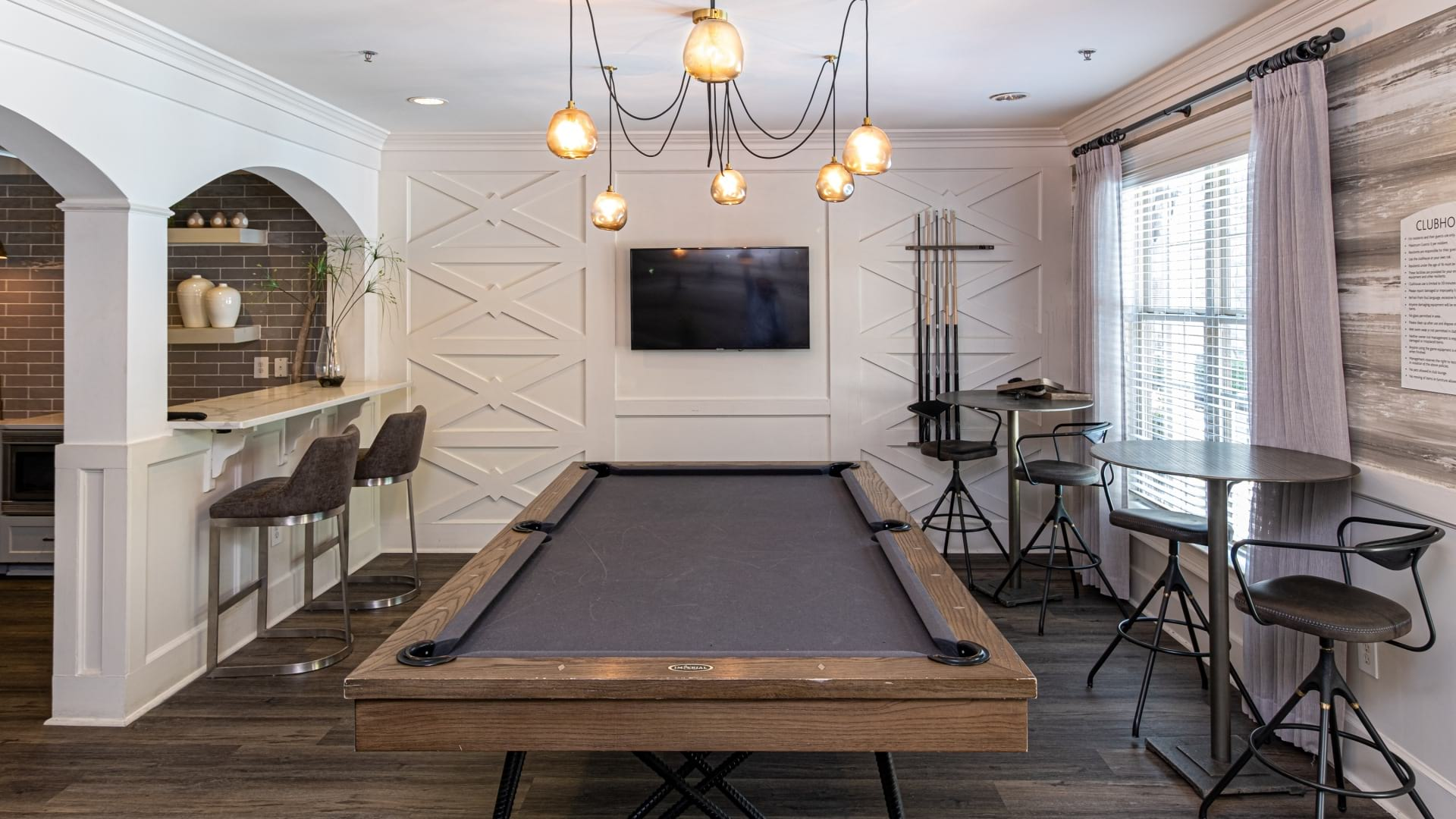 Resident Clubhouse with Billiards