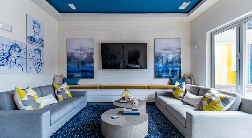 Buckhead luxury apartments with Brand New Resident Lounge