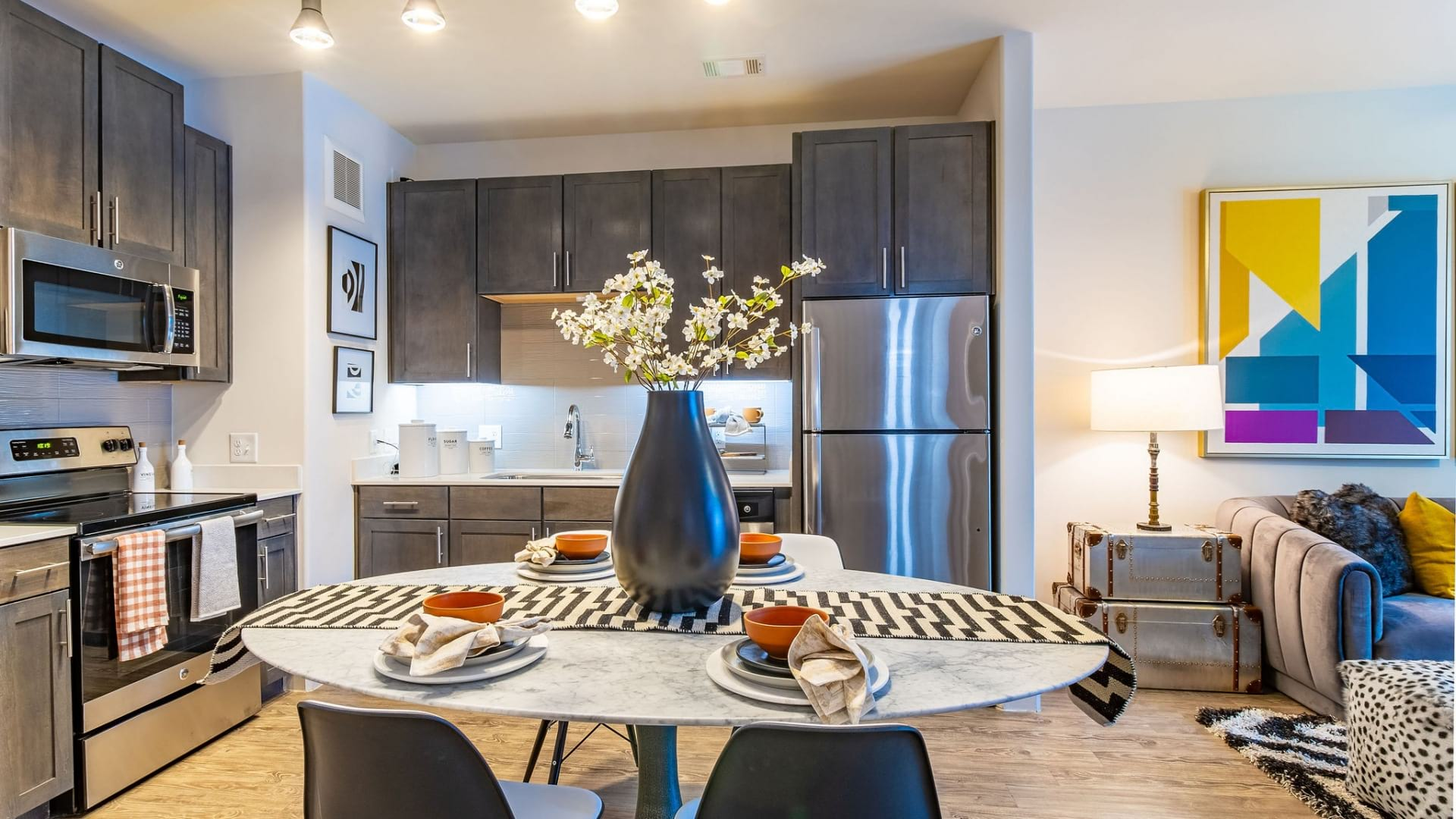Dining Table at Apartments For Rent in Buckhead Atlanta