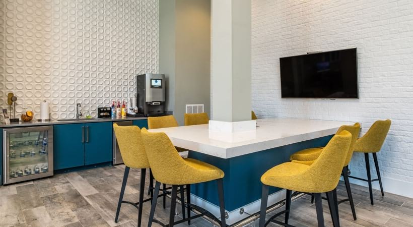 Resident clubhouse at our Peachtree Corners apartments