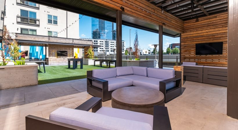 Brand New Outdoor Resident Lounge in Buckhead, GA