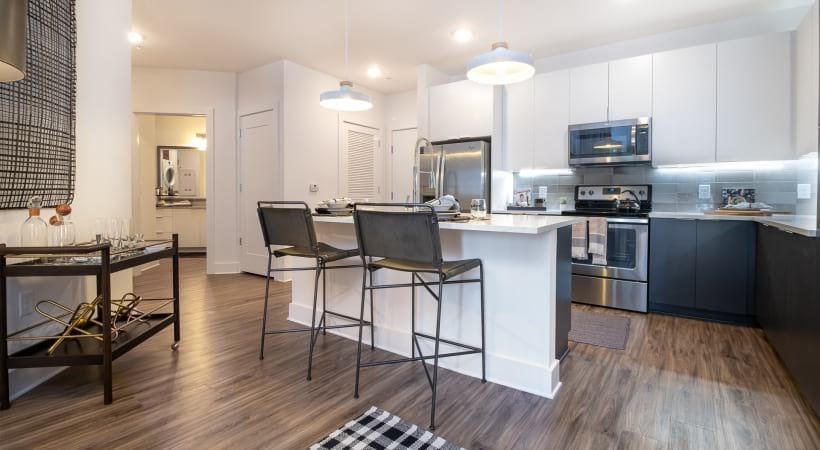 Spacious apartment kitchen at our Smyrna apartments