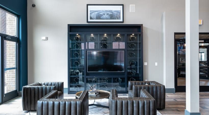 Apartments Clubhouse with HDTVs