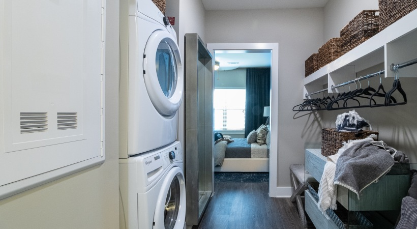 Apartment with washer and dryer in unit at our Smyrna apartments