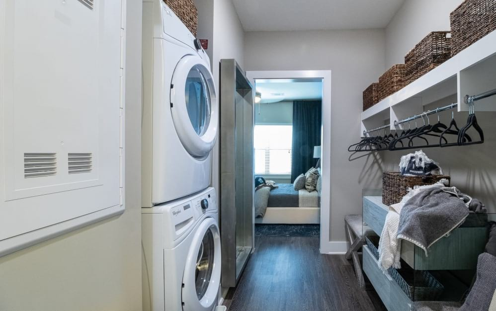 In-home washer and dryers