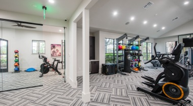 Fitness Center and Spin Room