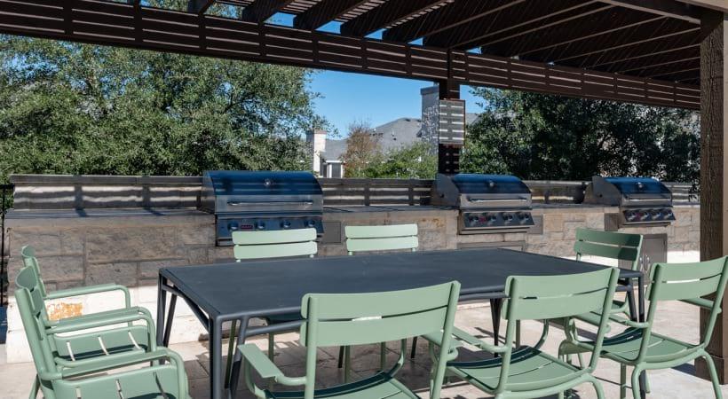 Outdoor Grills at Cortland Estates at TPC Apartments