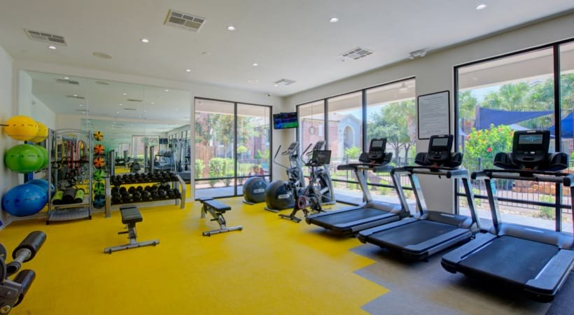 Cortland Med Center apartments fitness center