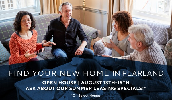 Open House Savings: Up to $350 off rent & waived deposit