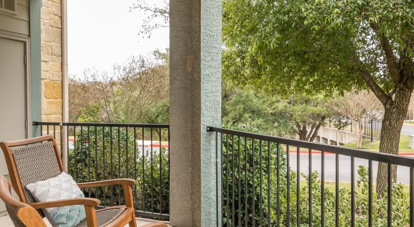 Private Balconies or Patios