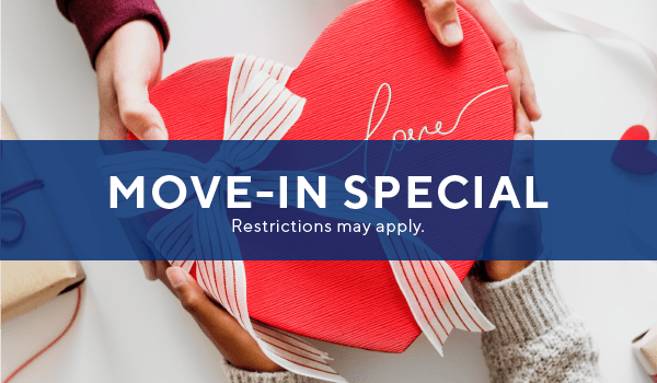$250 off select homes when you move-in by end of February.
