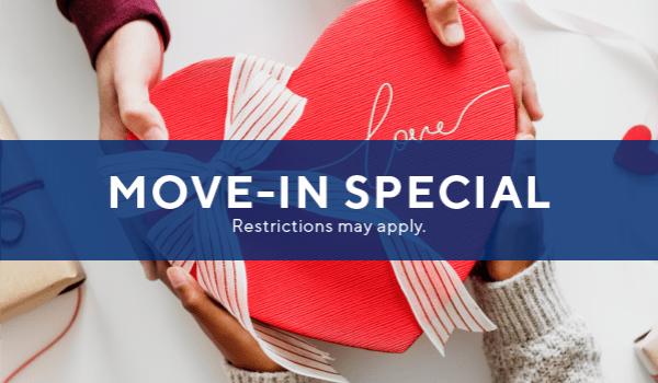 $500 off immediate move-ins PLUS $49 app/admin fee.