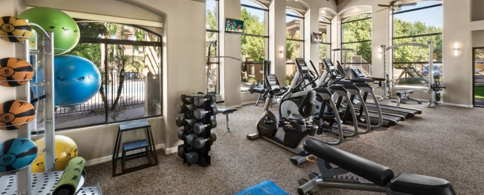 24/7 Fitness Center at Cortland at Raven