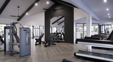 Our Euless apartment gym with cardio equipment
