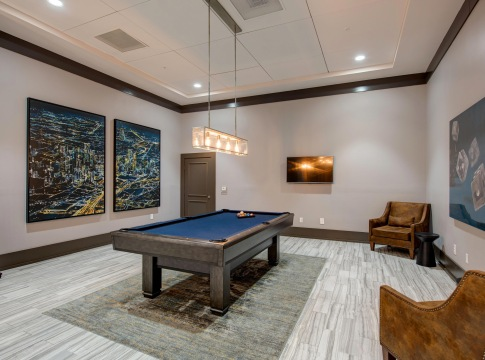 Pool Table At Our Resident Clubhouse