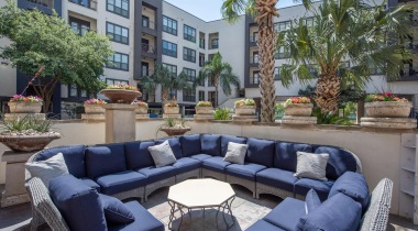 Outdoor Area at Apartments By Cortland