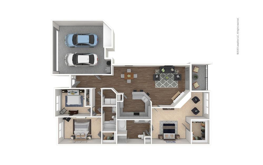 Hedgecox 3 bedroom 2 bath 1701 square feet