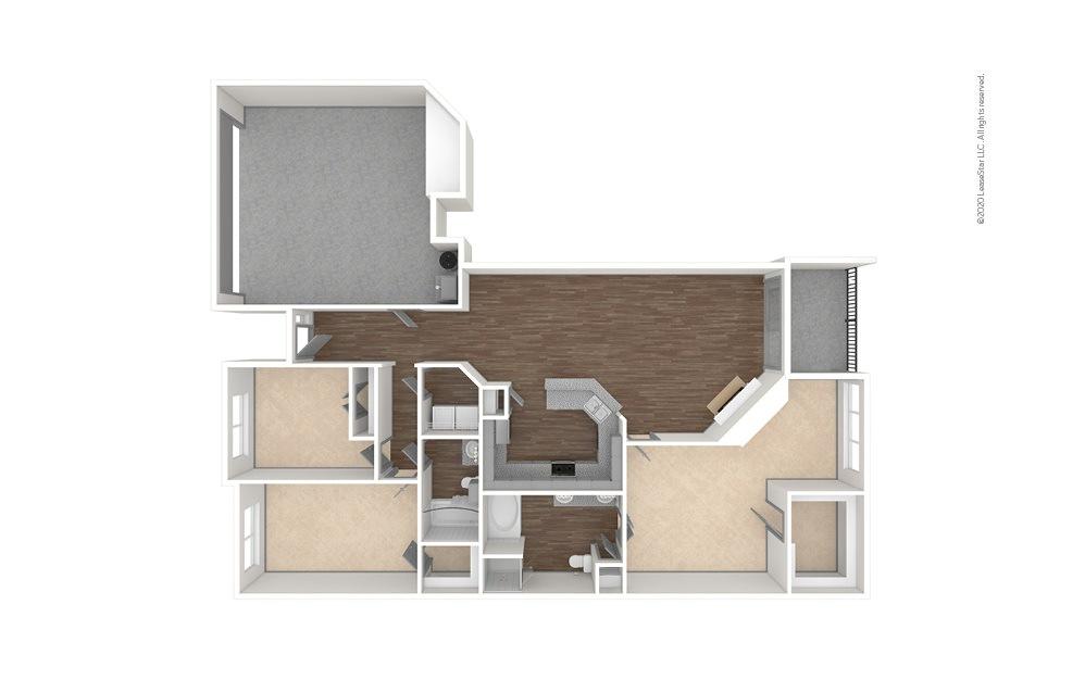 Hedgecox 3 bedroom 2 bath 1701 square feet (1)