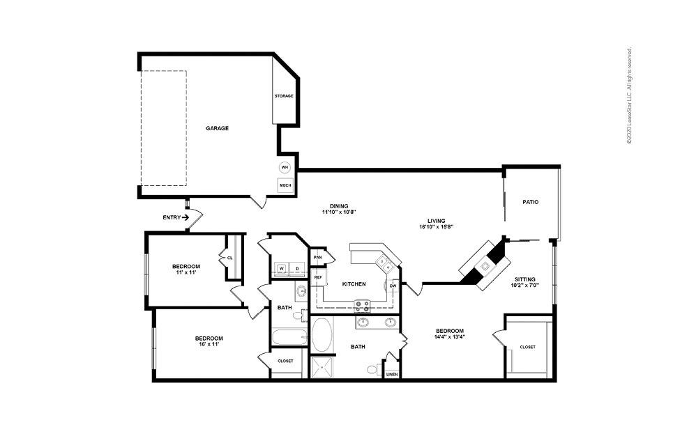 Hedgecox 3 bedroom 2 bath 1701 square feet (2)