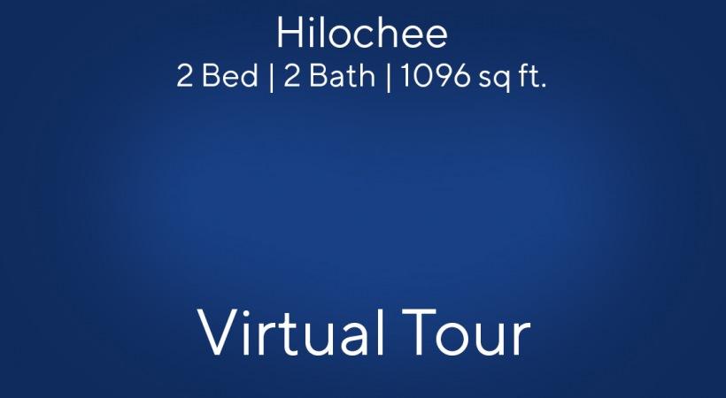2 Bed/2 Bath floor plan Virtual Tour
