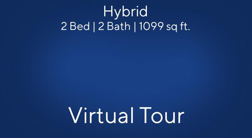 Hybrid Virtual Tour | 2 Bed/2 Bath