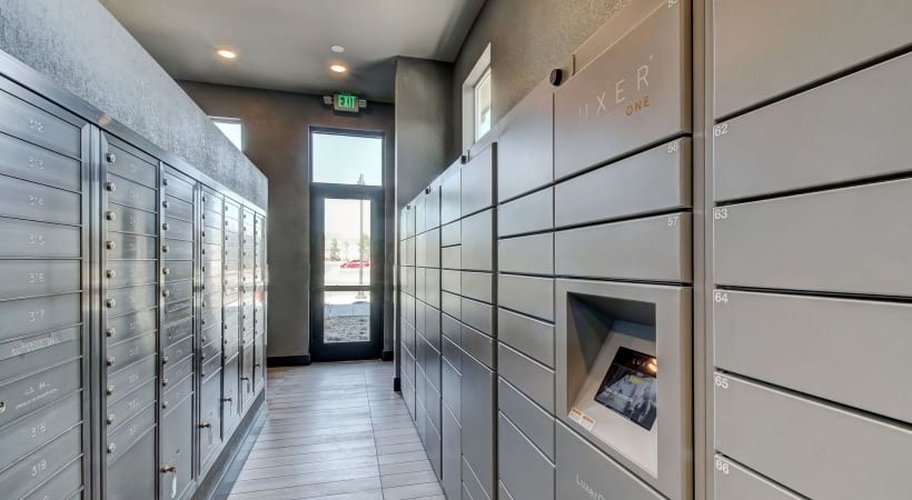 24/7 Package Lockers at Cortland at Green Valley Apartments