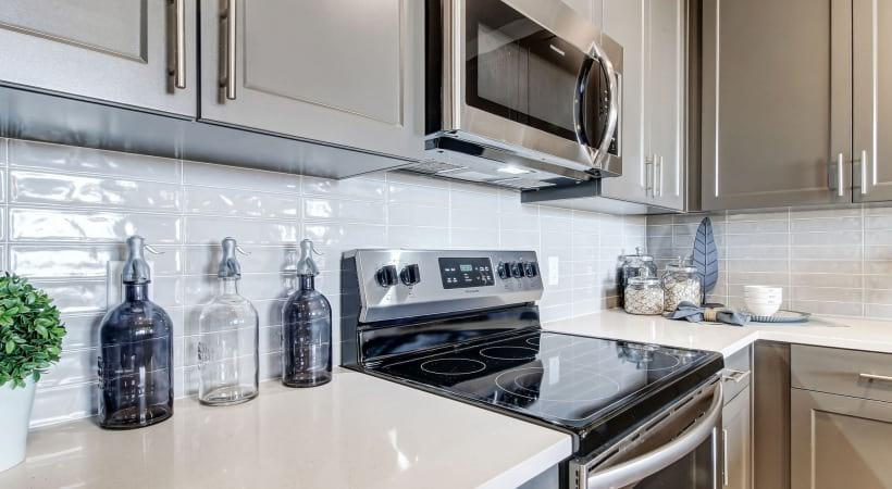 Energy-Efficient, Stainless Steel Appliances at Cortland at Green Valley Apartments
