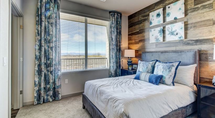 Plush Carpet in Bedrooms at Cortland at Green Valley Apartments