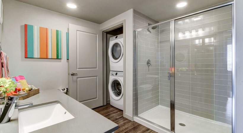 In-Home, Full-Size Washer and Dryer Sets at Cortland at Green Valley Apartments