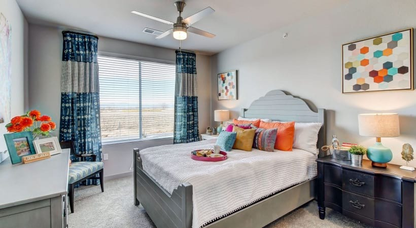 Ceiling Fan in Master Bedrooms at Cortland at Green Valley Apartments