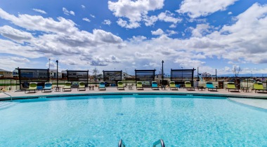 Green Valley Ranch Denver, CO Apartment Pool with Sun Deck
