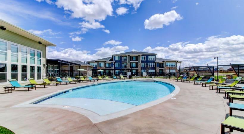 Resort-Style Pool at Cortland at Green Valley Apartments
