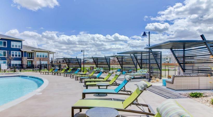 Poolside Cabanas at Cortland at Green Valley Apartments