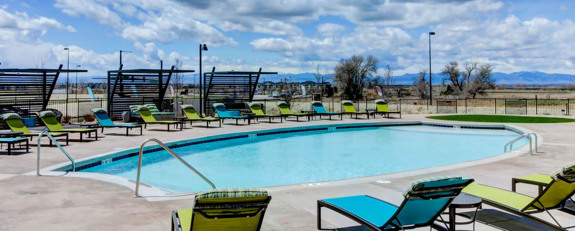 Our Northeast Denver Apartment Pool with Heated Spa