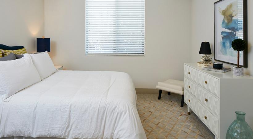 Carpeted Bedroom | Deerfield Station