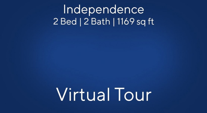 Independence Floor Plan Virtual Tour | 2 Bed/2 Bath