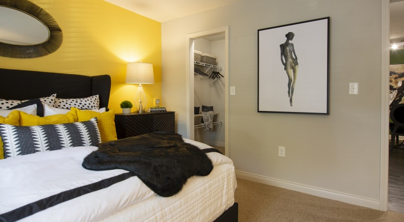 Spacious one bedroom apartments at Cortland East Cobb