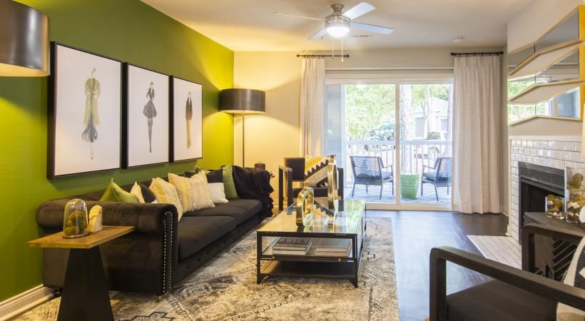 Spacious living space at apartments for rent in Marietta, GA